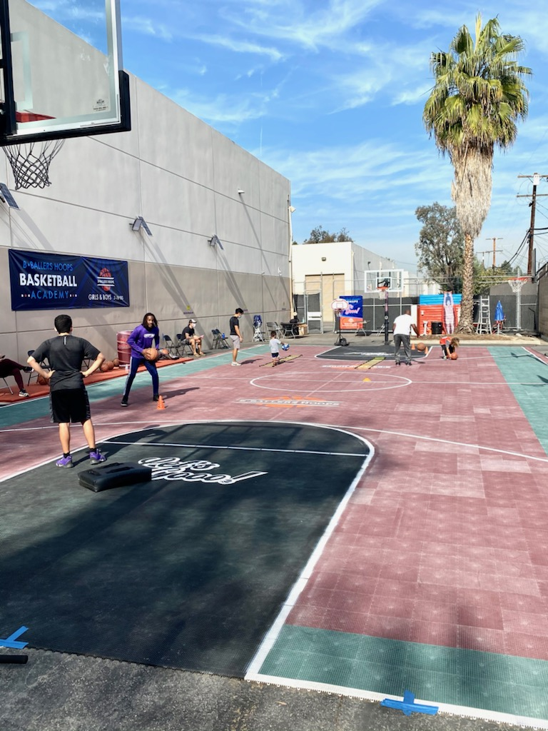 Our New Outdoor Court