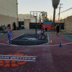 B Ballers Outside Court 2020